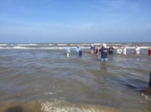 Beach Baptism 2015