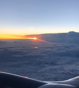 Sunrise at 30,000 Feet